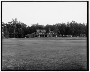 Detroit Golf Club in 1908