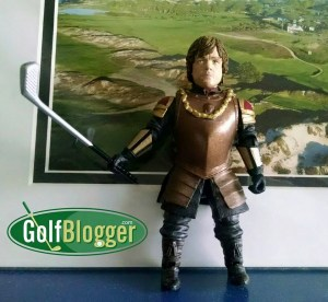 Tyrion Lannister Golfing Action Figure