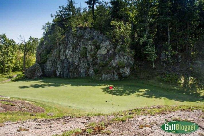 Greywalls Hole 5 Green