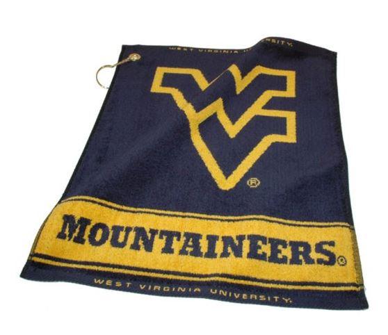 WVU Mountaineer Golf Towel