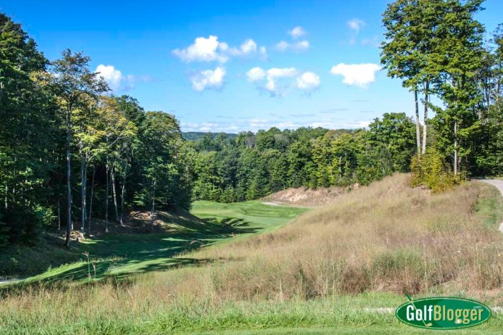 The eleventh at True North is a 365 yard par 4