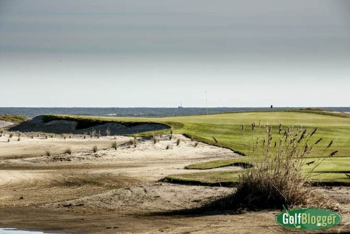 Wild Dunes Links Hole 18 Rebuilt