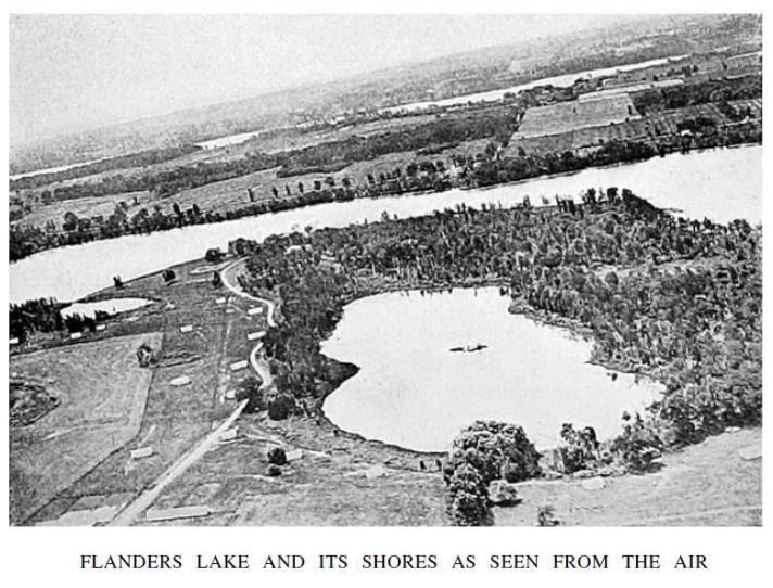 Flanders Lake Aerial View