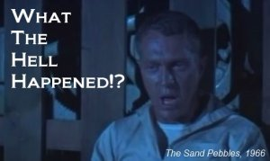 Steve McQueen in The Sand Pebbles