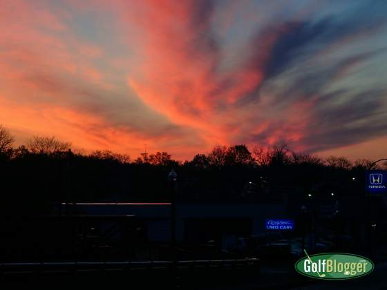 Sunrise Over Ypsi