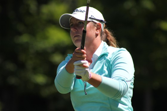 Ashley Tait leads after two rounds of the 2016 Michigan Women's Open