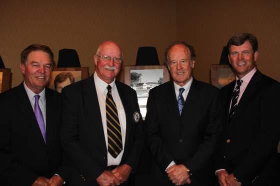 Inductees, from left, Ken Allard, Steve Braun, Joe Vargas and Todd Anderson