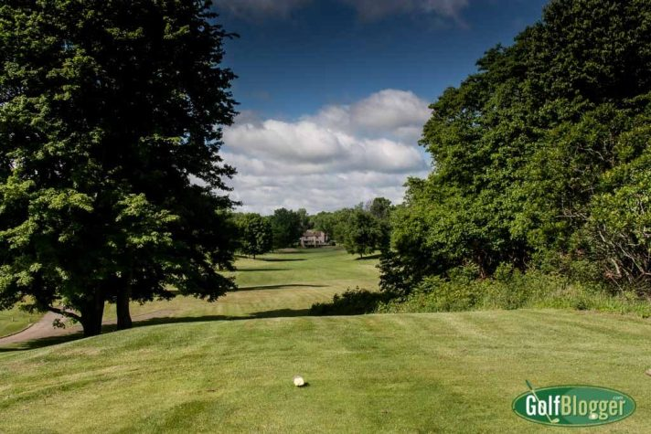 The sixteenth at Lake Doster is a 409 yard par 4.