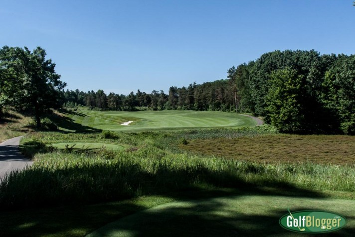 The thirteenth at Tullymore is a 615 yard par 5.
