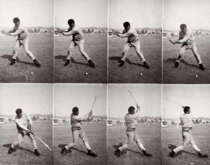Muhammad Ali's Golf Swing. Photos by Brad Wilson, 1973