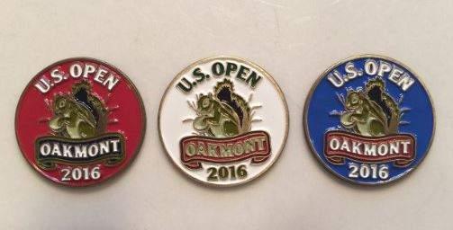 US Open Oakmont Ball Markers