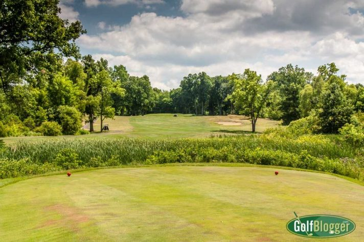 The seventeenth at Cattails is a 502 yard par 5.