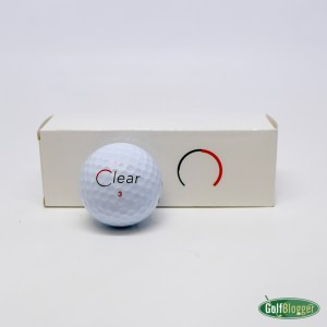Clear Red Golf Balls
