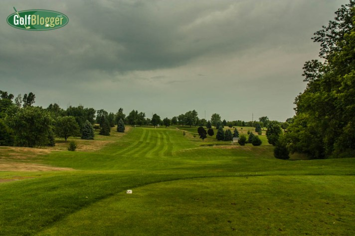The fifteenth at Devil's Lake is a 347 yard par 4.