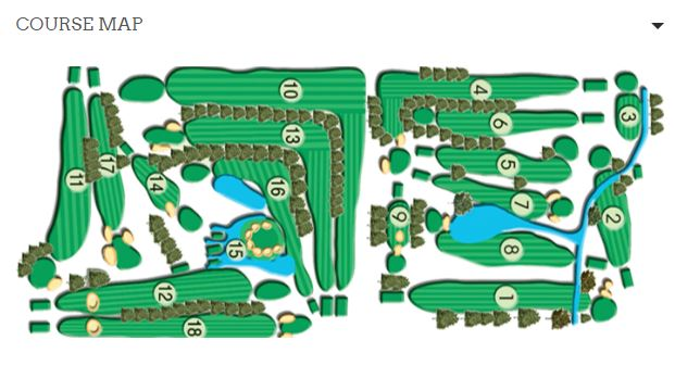 Thorne Hills Course Map