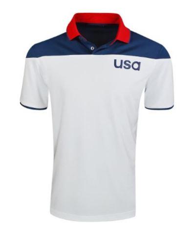 Olympic Golf - USA Golf Shirt