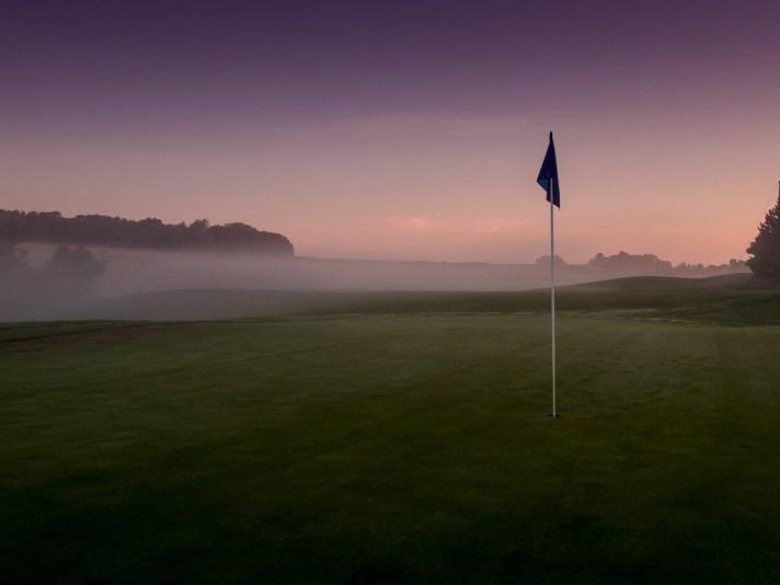 Calderone Golf Club At Dawn