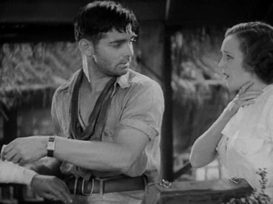 Clark Gable In Red Dust