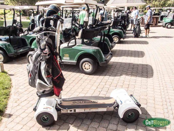 GolfBoard At The Moor At Boyne Highlands