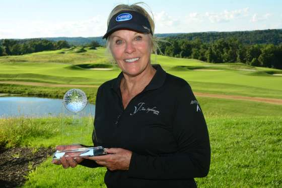 Jan Stephenson, winner of the 2016 Legends' Honors Division at French Lick Resort.