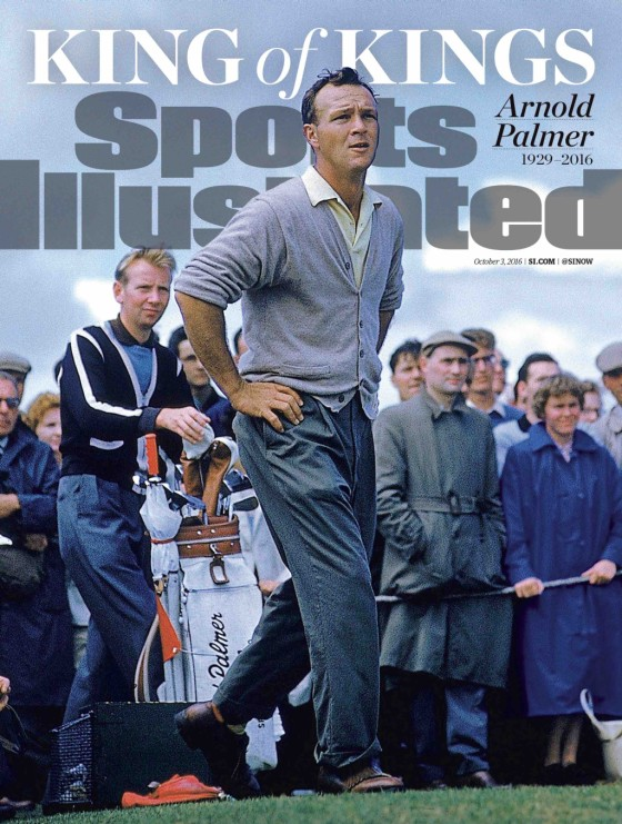 Arnold Palmer Sports Illustrated Cover