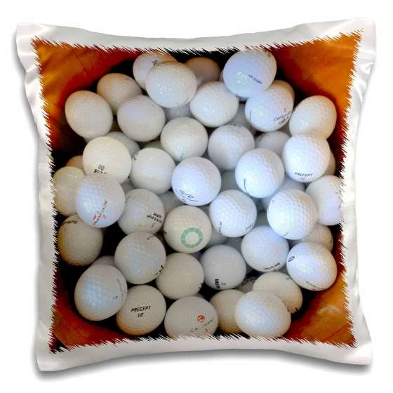 Golf Ball Pillow Case