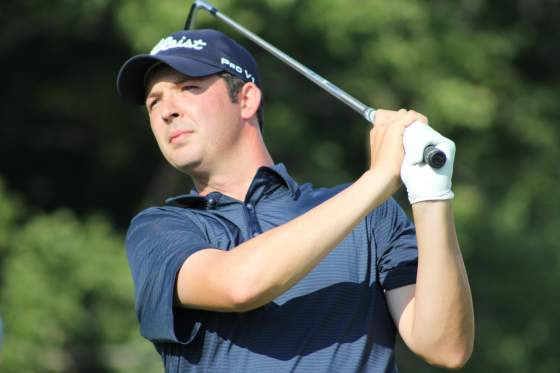 Defending champion Kyle Martin at the 2016 Michigan PGA Professional Championship.