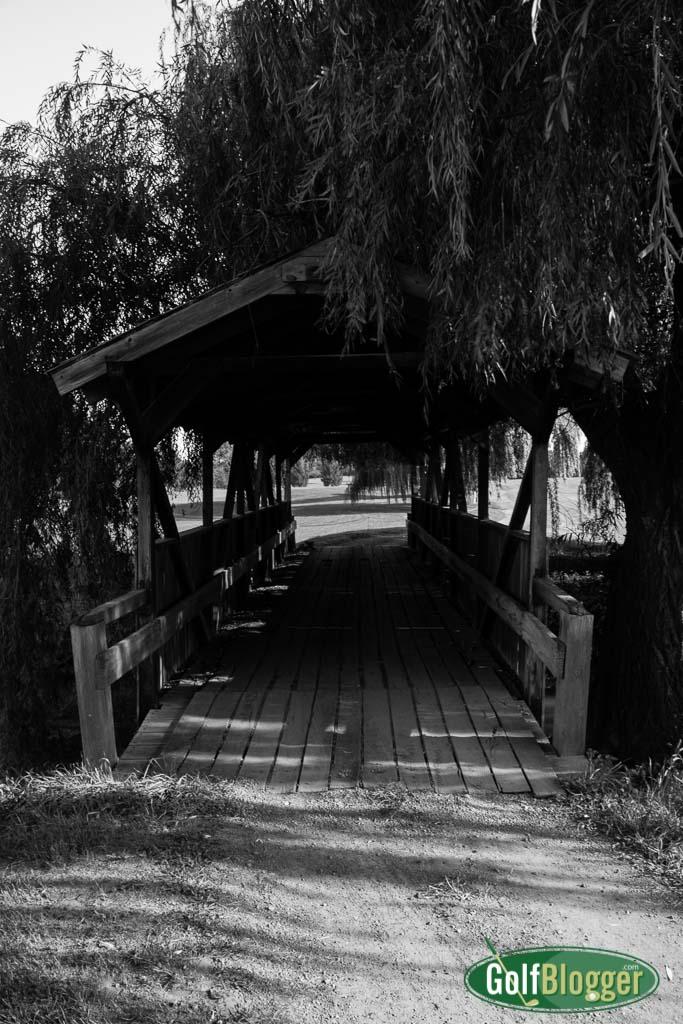 Golf Course Covered Bridge