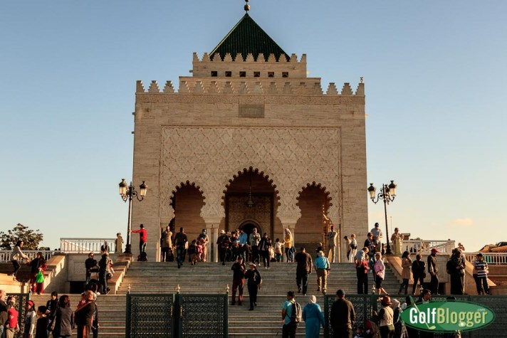 The Mausoleum of Mohammed V. There's More To Golf In Morocco Than The Trophee Hassan II