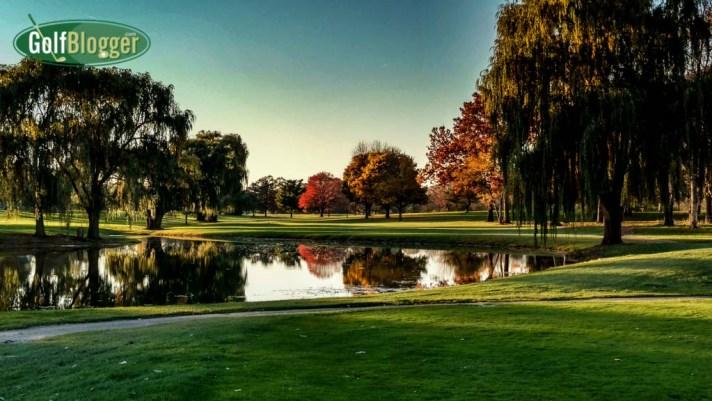 November Golf In Michigan