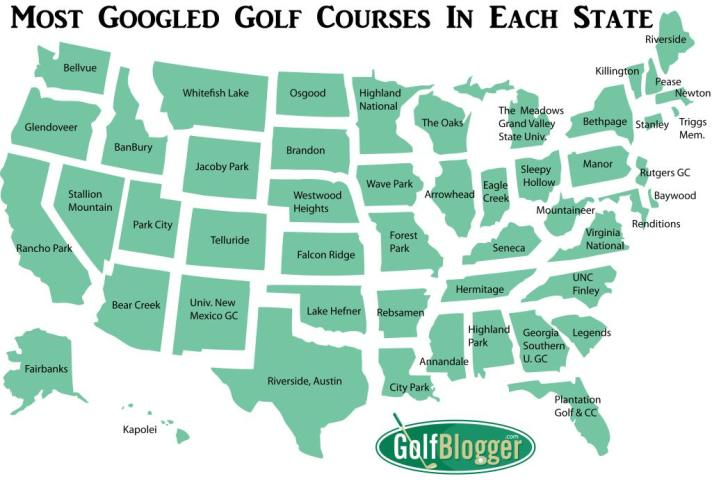 You Won't Believe The Most Googled Golf Course In Your State