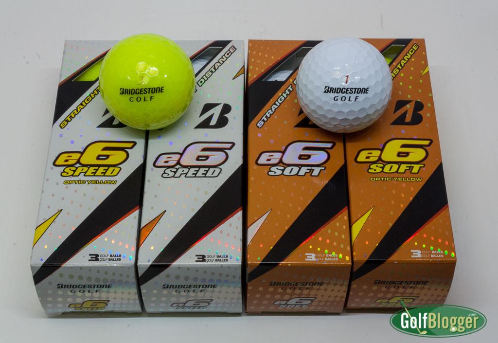 Bridgestone E6 Soft and E6 Speed Review | GolfBlogger Golf Blog