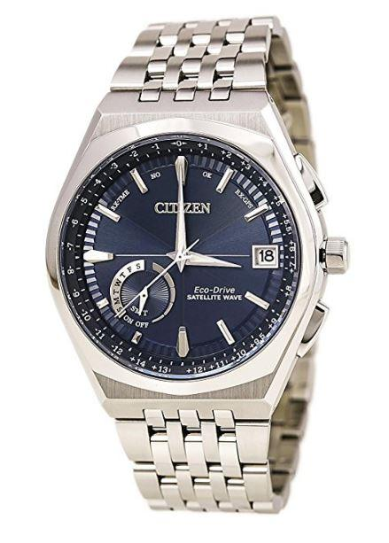 Citizen Eco-Drive Satellite Wave-World Time GPS
