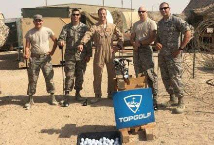 Topgolf Offers Golf Equipment To Overseas Troops