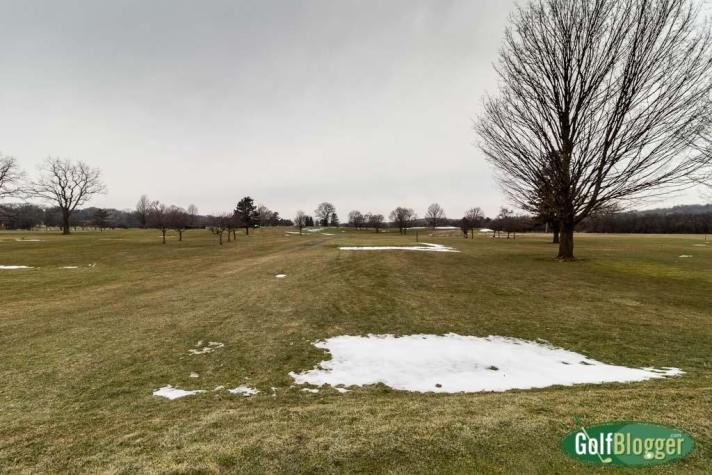 February Golf In Michigan