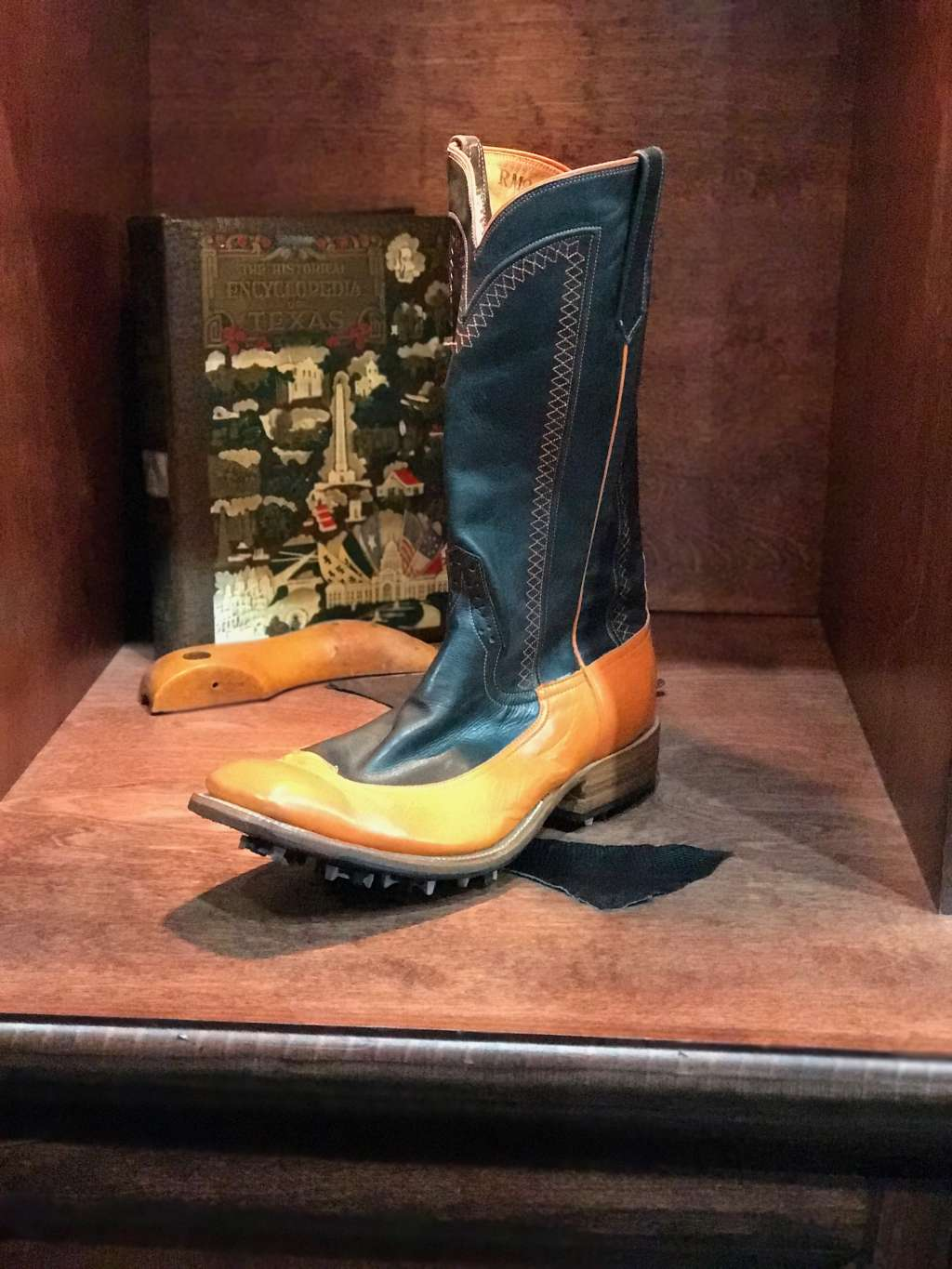 Custom Golf Cowboy Boots From Texas National Outfitters