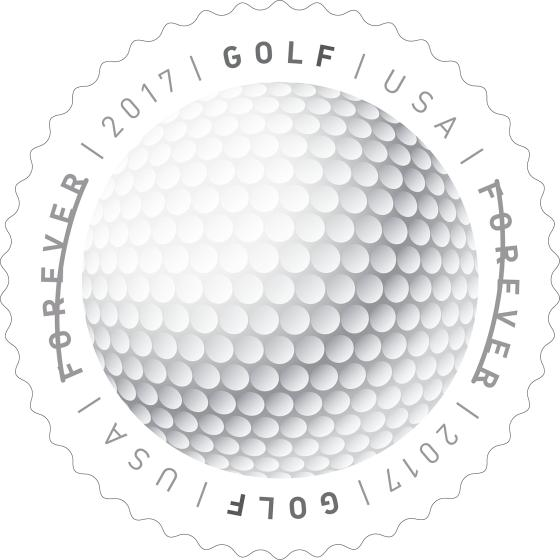 Golf Ball Stamp