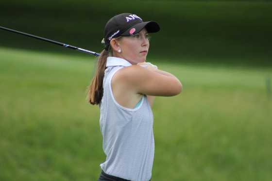 Kerrigan Parks of Flushing won her second consecutive Michigan Girls Junior State Amateur Championship.
