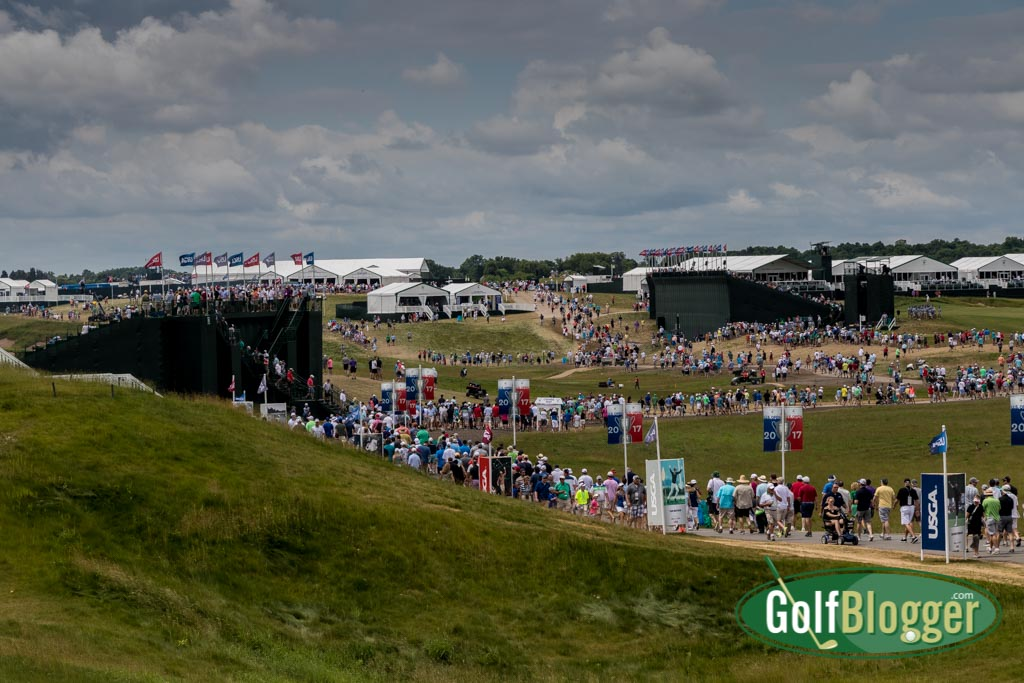 Visiting The US Open At Erin Hills