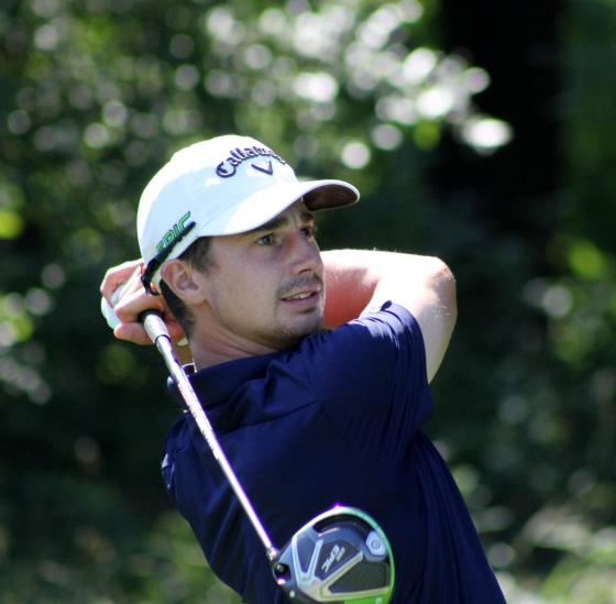 Michael Nagy leads after two at the Michigan Tournament of Champions