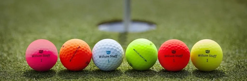New: Wilson Staff Duo Matte Finish Golf Balls