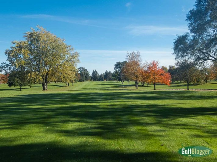 October 26 Round At Green Oaks, Ypsilanti, Michigan