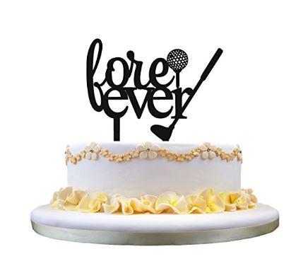Golf Themed Wedding Cake Topper