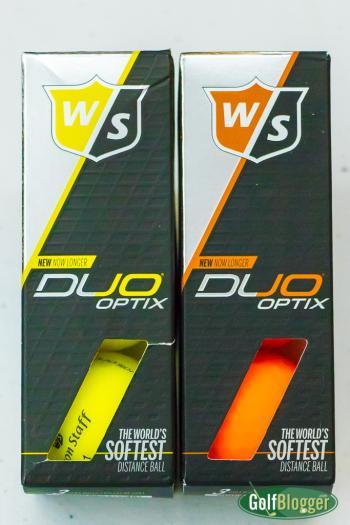 Wilson Duo Optix golf balls