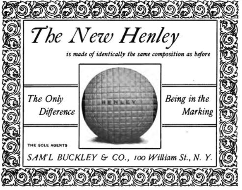 The Golf Ball Industry In 1898