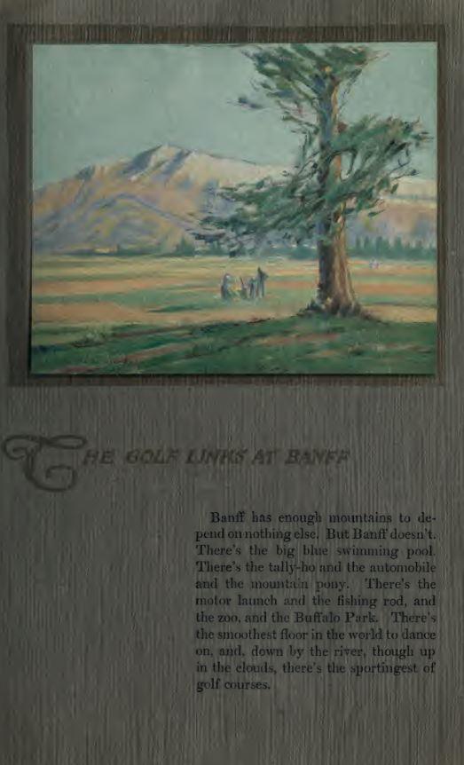 Golf Links At Banff