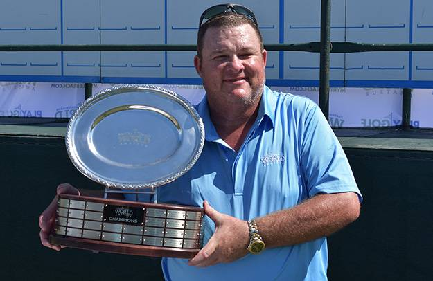Greg Williams Fires Net 67, Wins Flight Winners' Playoff at 35th Annual PlayGolfMyrtleBeach.com World Amateur Handicap Championship