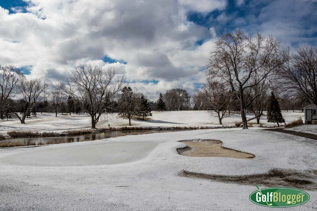 March Has One Last Laugh At Golfers In Michigan