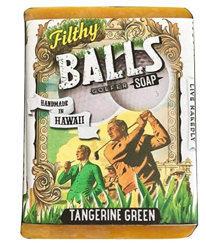 Filthy Balls Golfer Soap