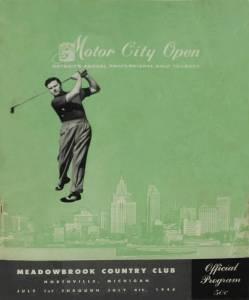 Detroit's First Pro Golf Tour Event – The Motor City Open